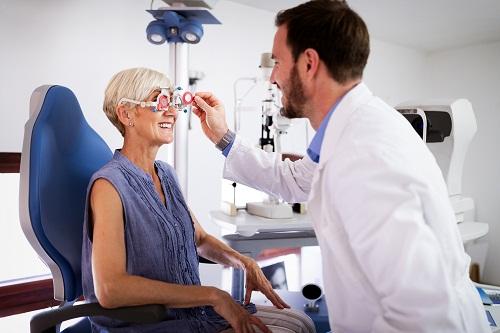 un centre ophtalmologique à Nice